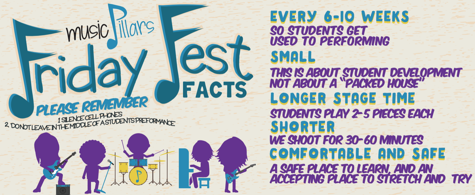 Friday Fest Facts - Music Pillars