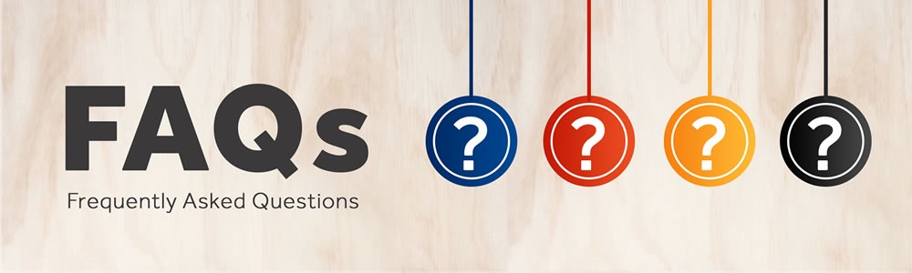 Answers to some of our FAQs -