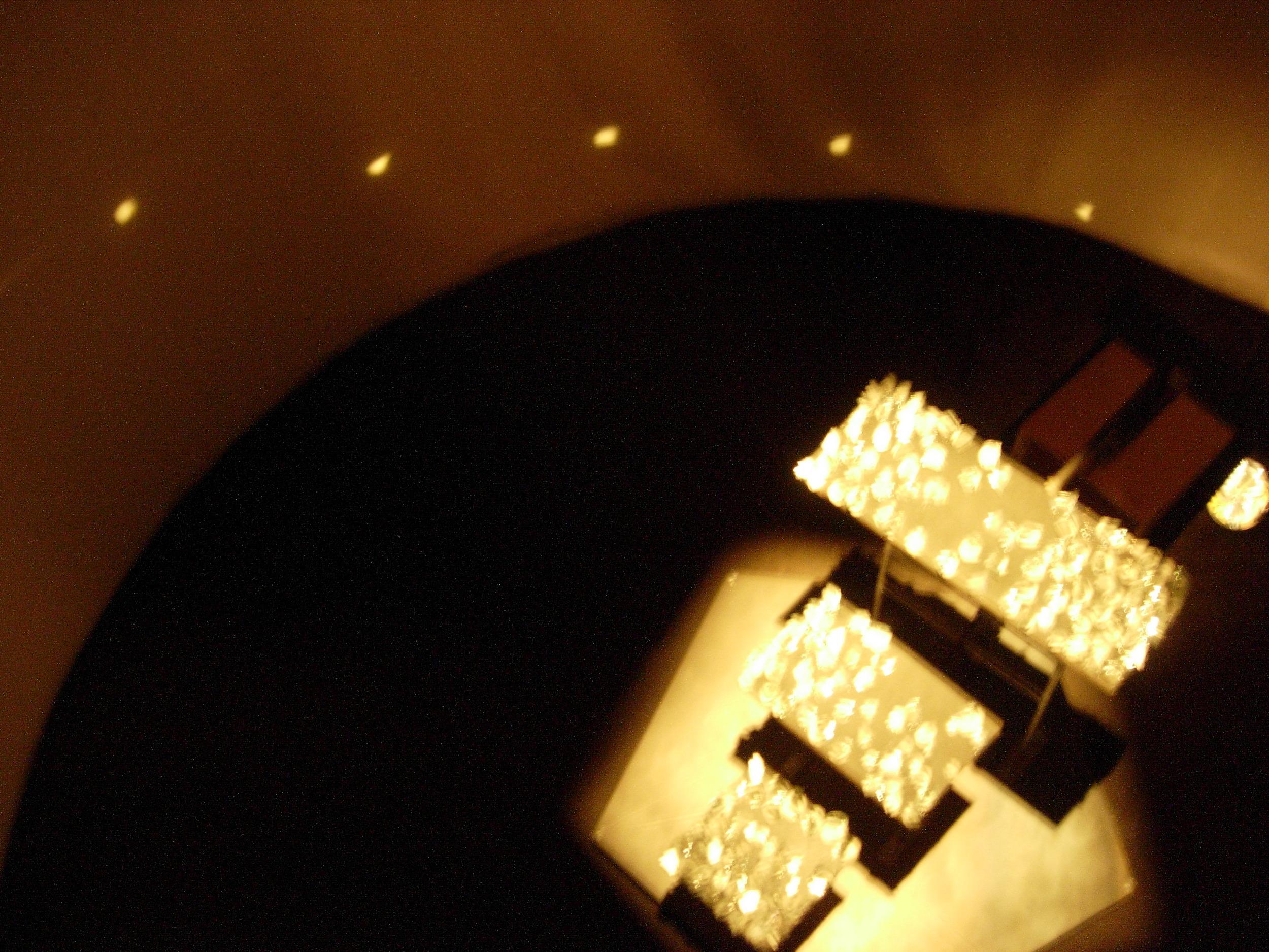 maya instilation central reflector mixed media, 2005(3).jpg
