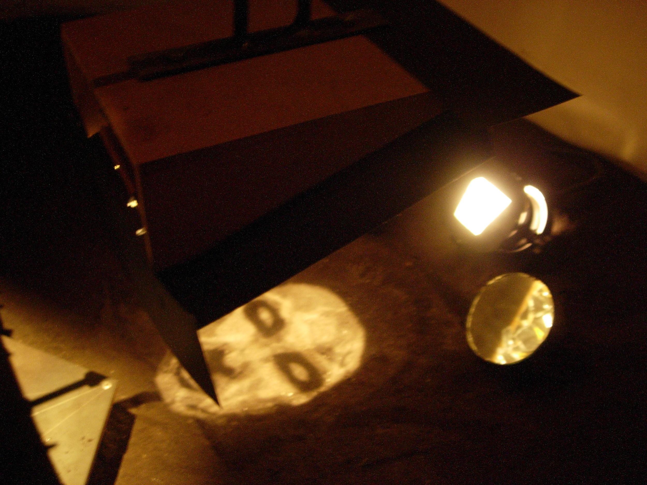 maya instilation face reflector mixed media, 2005.jpg