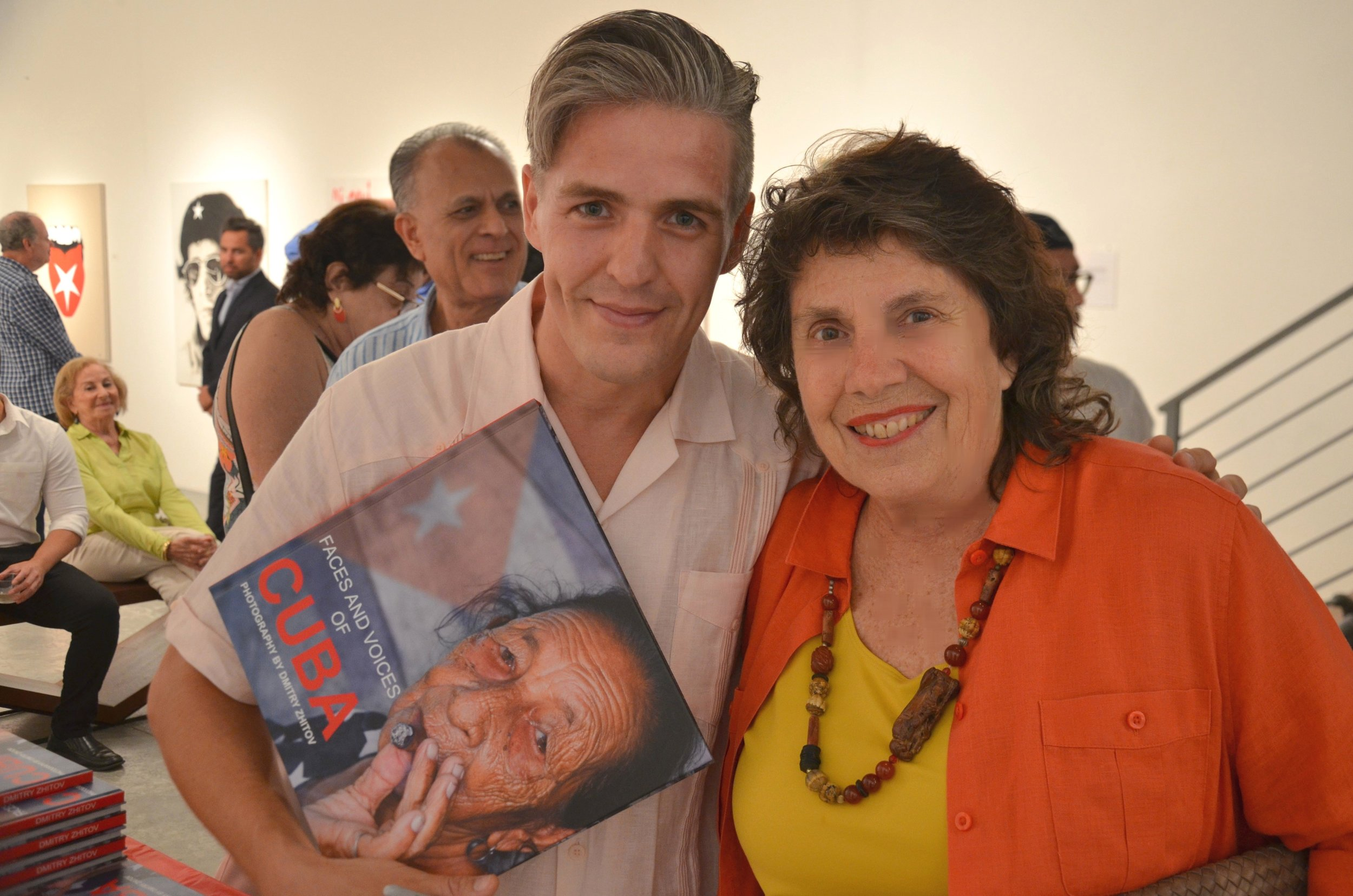 Faces and Voices of Cuba opening Dmitry and Susan (10).JPG