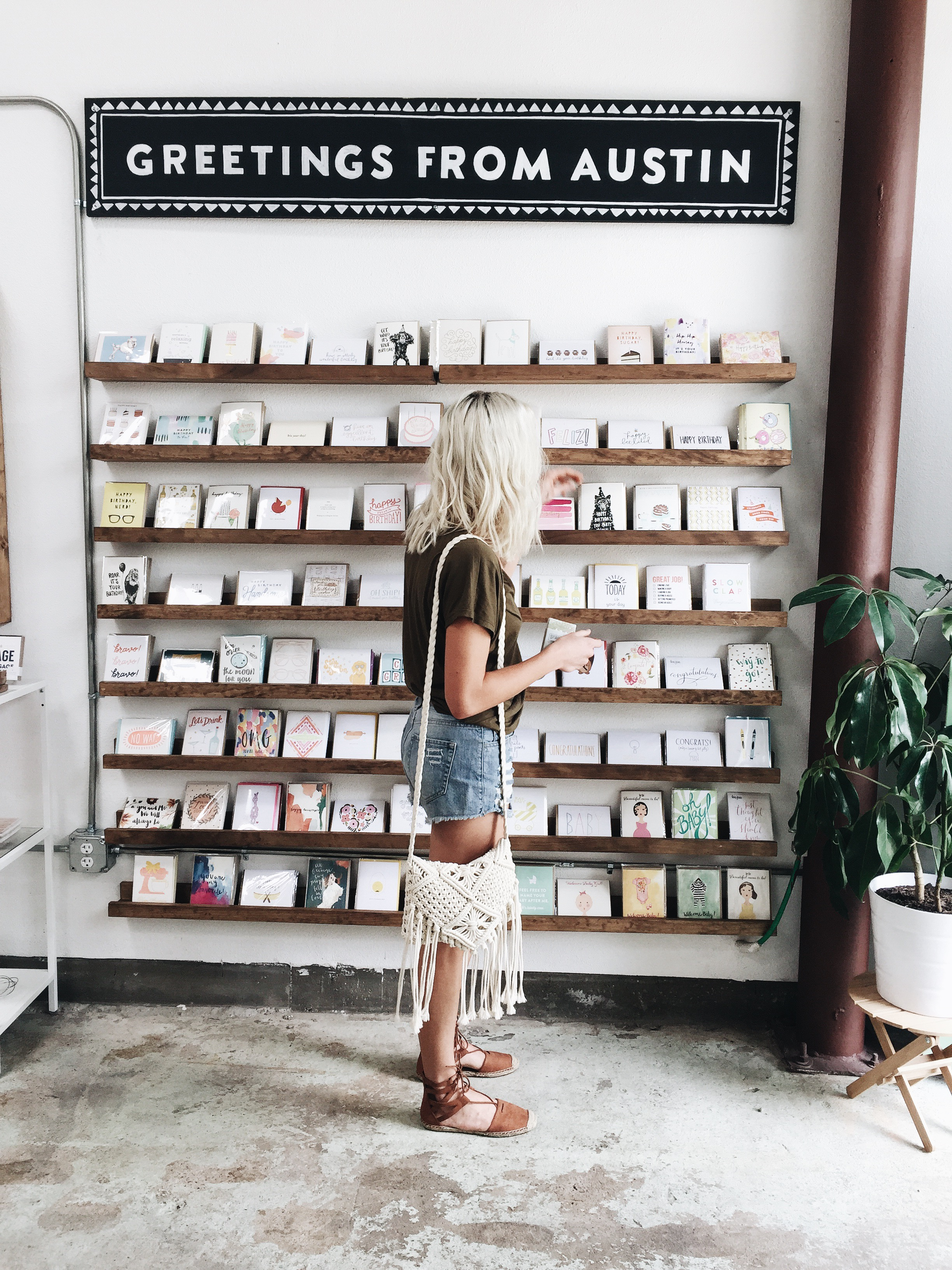 The precious cards at Paper + Craft Pantry make me want to really follow my goal of sending out more letters. I love me some letters.