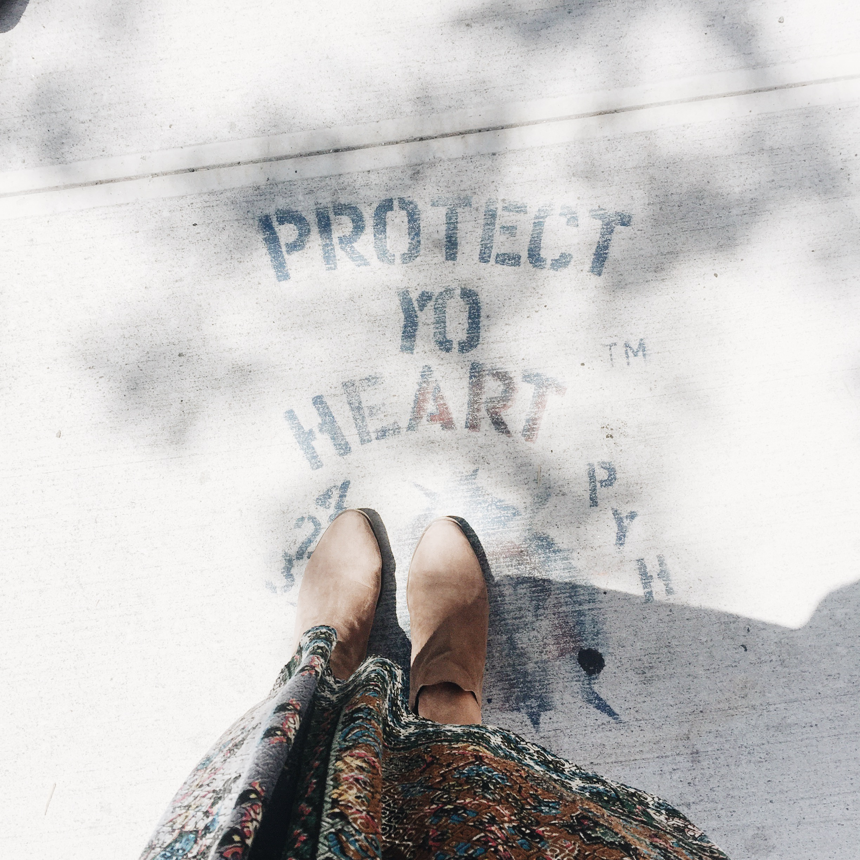 Lovely street art in Williamsburg