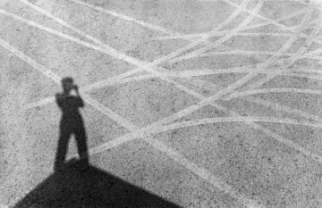 © Ernst Haas, Self-Portrait, Nevada 1960