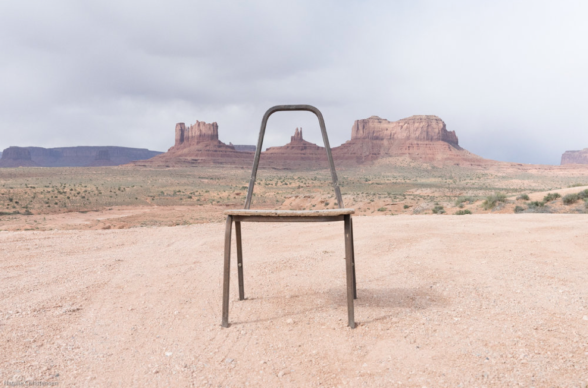 "Image: ""Gestalt at Monument Valley"" 2017, © Natalie Christensen"