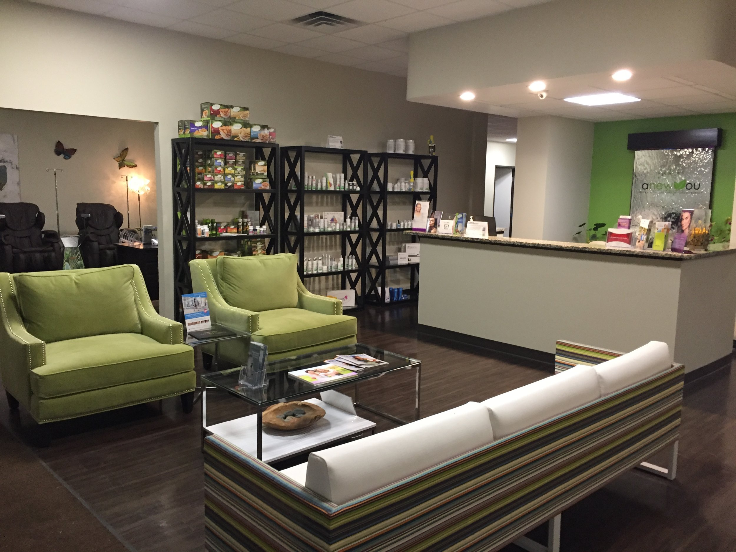 Here at Anew You in San Antonio we offer IV therapy in a luxurious spa atmosphere.