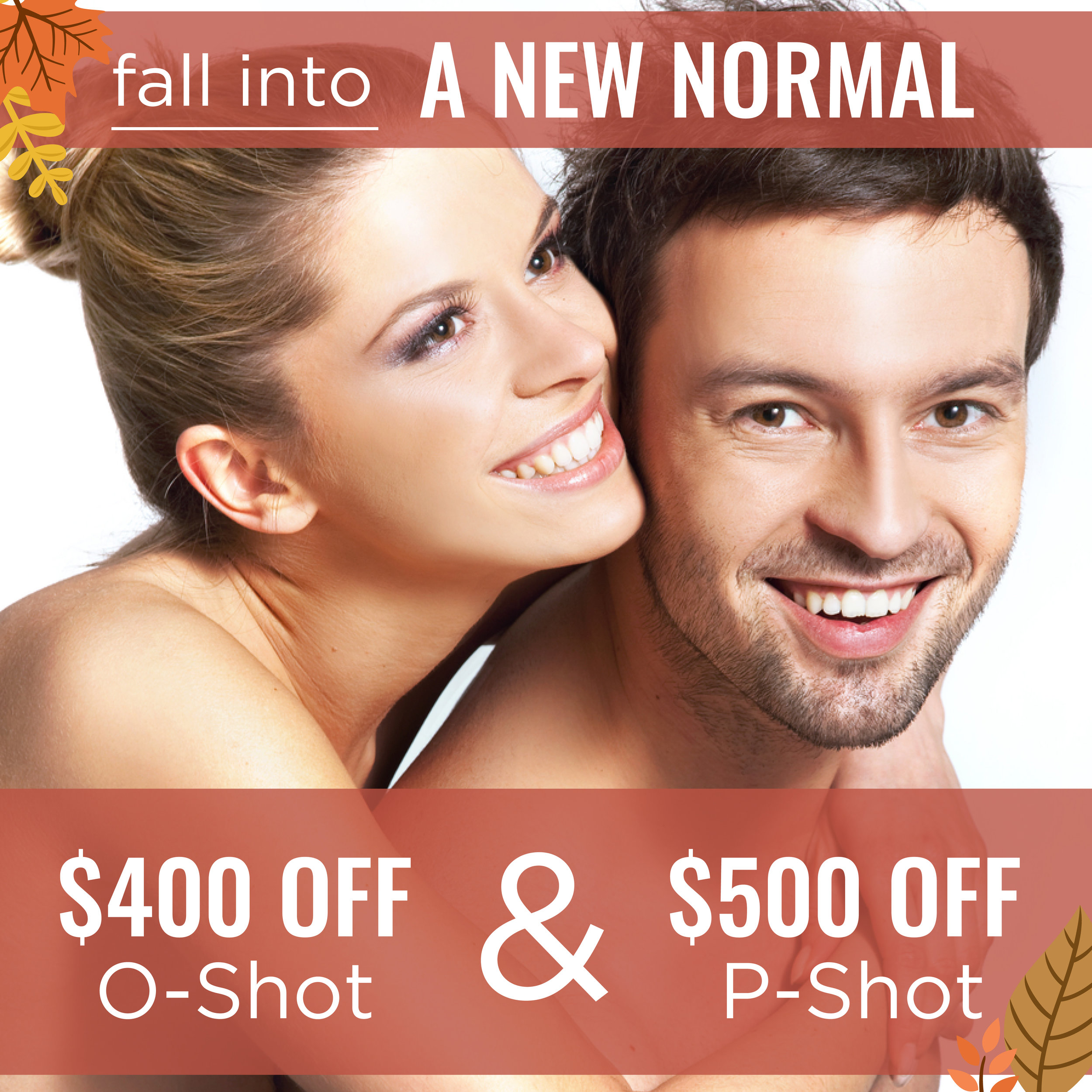 O-Shot and P-Shot specials in San Antonio, TX. Low libido is never fun but o-shot and p-shot can help.
