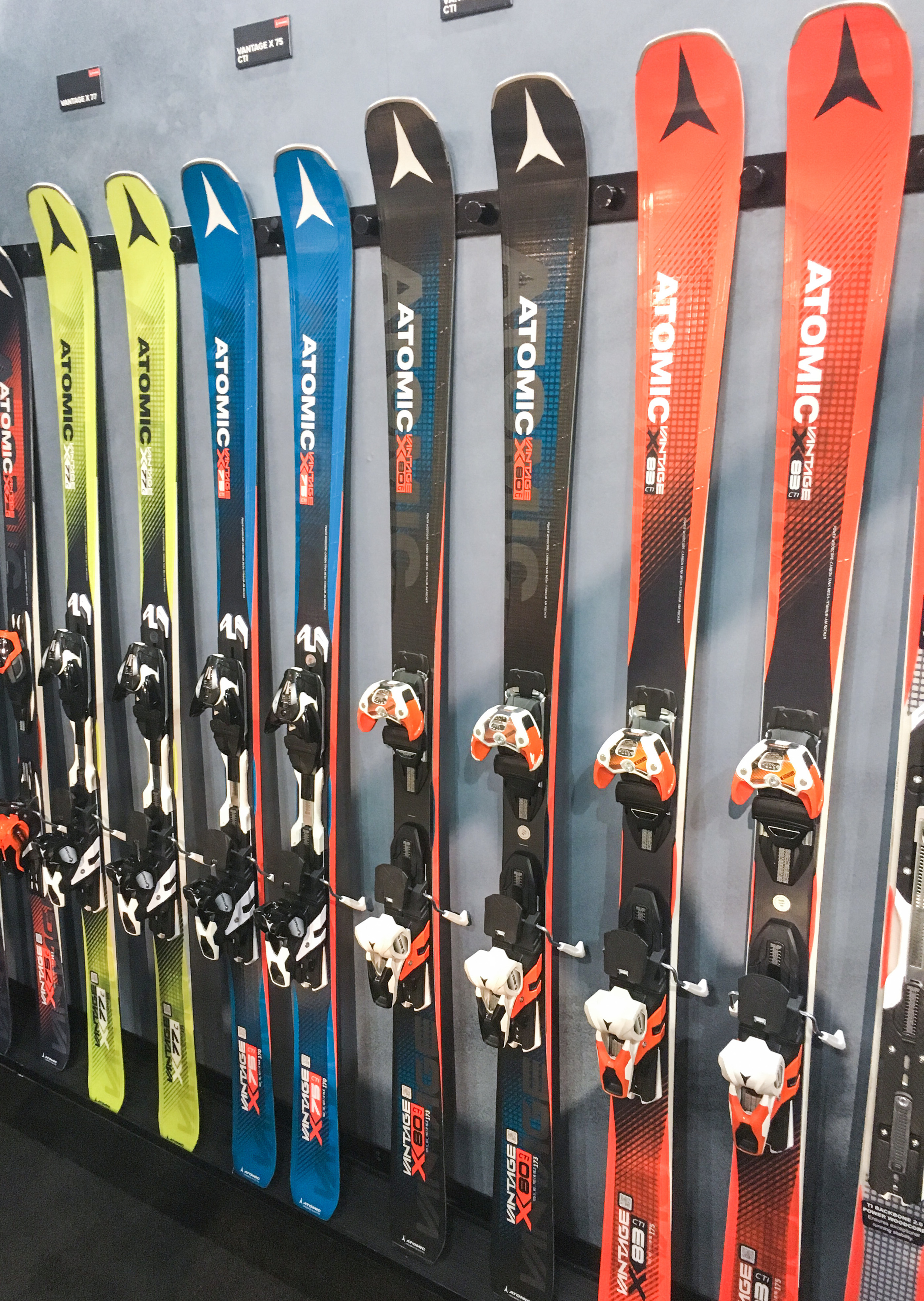 ATOMIC VANTAGE X SKIS, FROM $1,100.