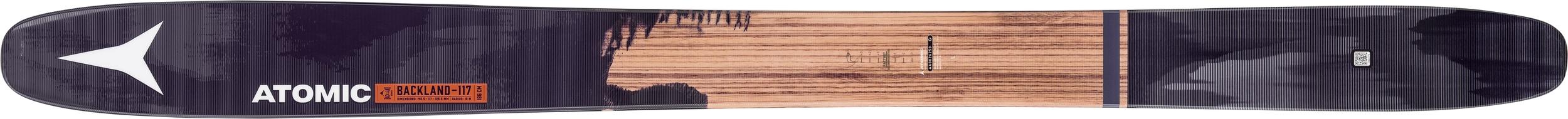 ATOMIC BACKLAND FR 117, $850.