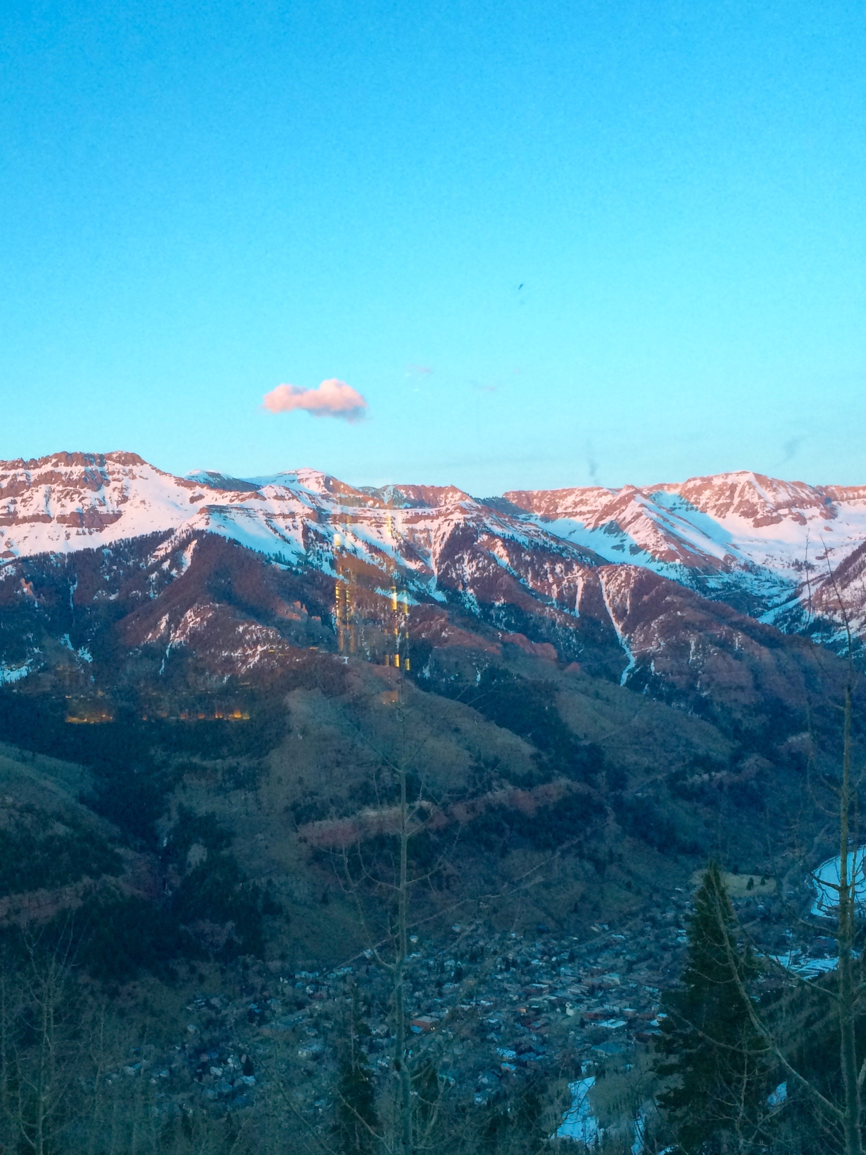Arrive at Allred's right at 3 p.m. to score a seat by a window peering out over Telluride.