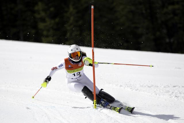 Galena Wardle raced to first place in Alpine Combined. ( USSA )