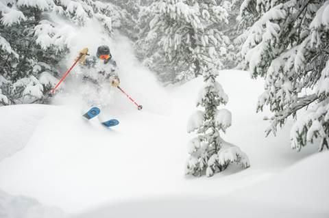 Breckenridge, Colorado, was buried under seven-plus feet of snow in March.