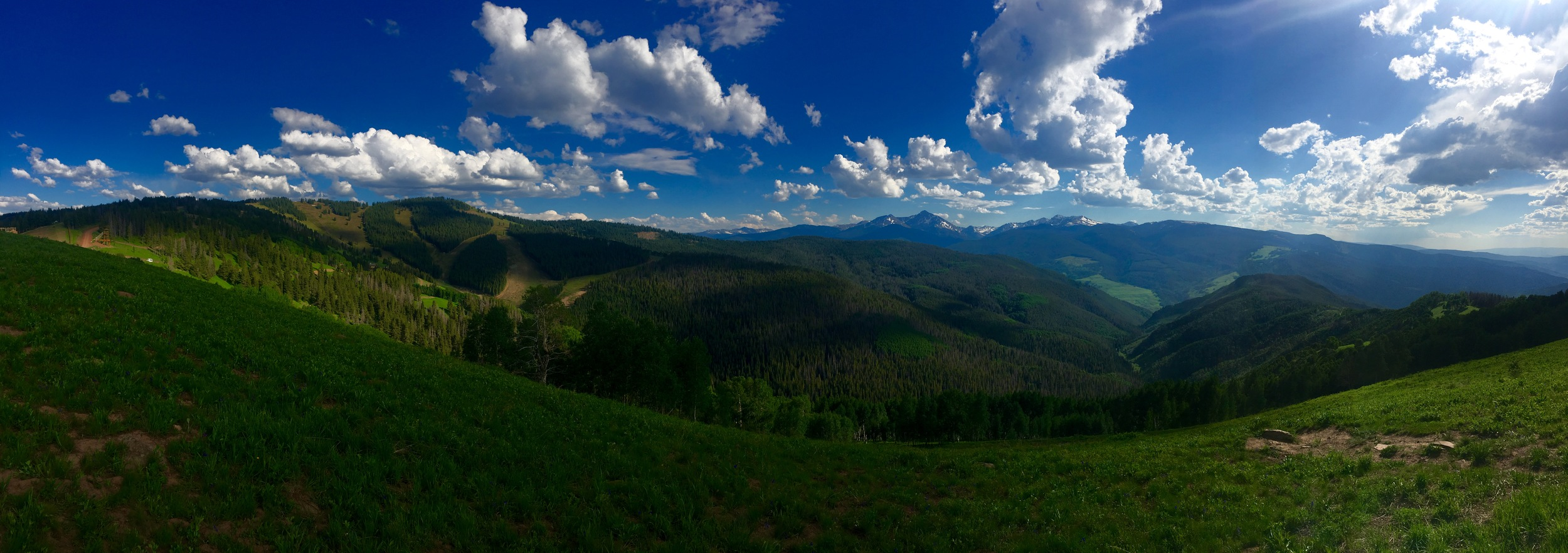 Panoramic views abound at Vail's new Epic Discovery mountain park. (@beingalexp)
