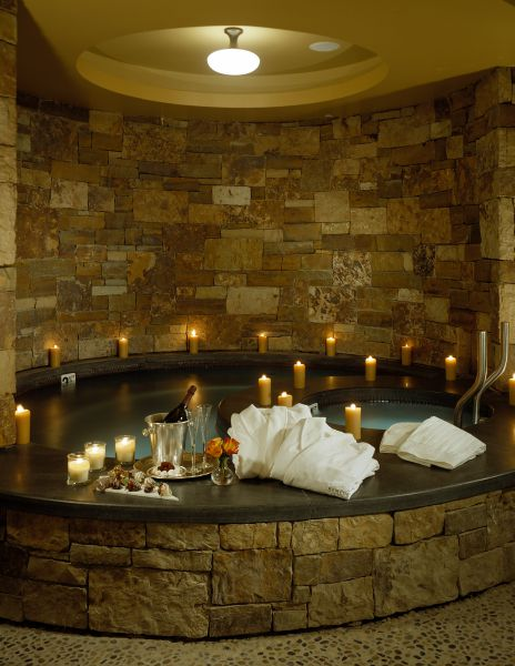 A relaxing pool in the Remede Aspen Spa at The St. Regis Aspen.Courtesy St. Regis