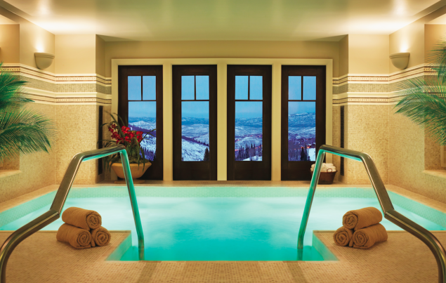 The spa at the Montage Deer Valley.Courtesy Montage Deer Valley