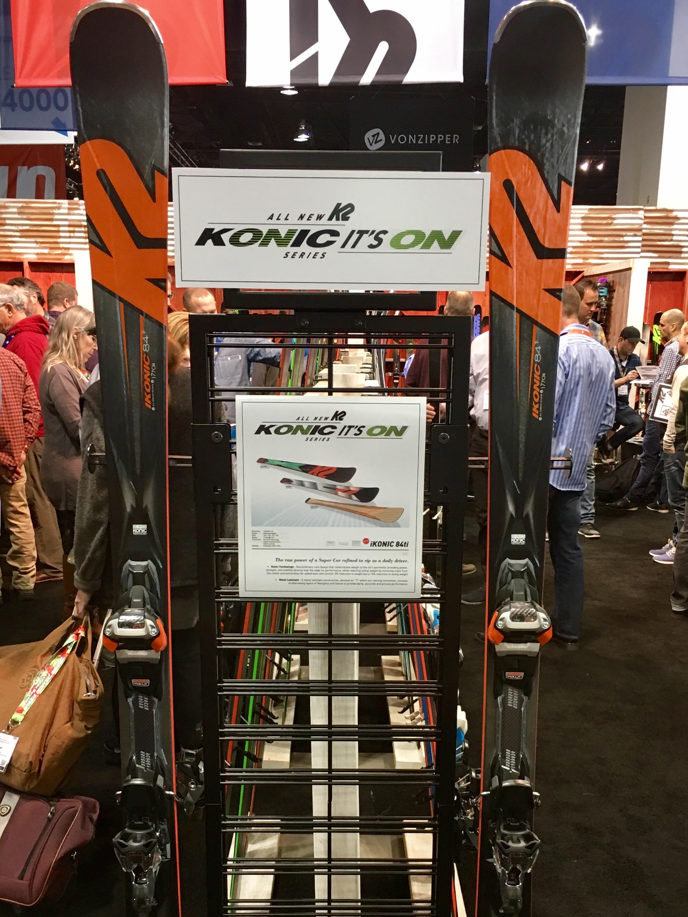 K2 iKonic 84ti.