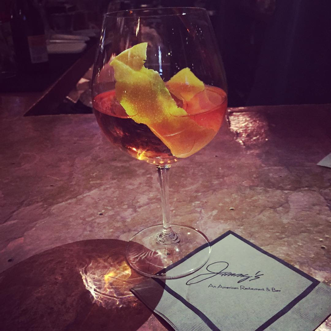 Best Spritz Ever! #happybirthdayJimmy #jimmys #spritzgame #aperol #aspen@thecocktailbrothers