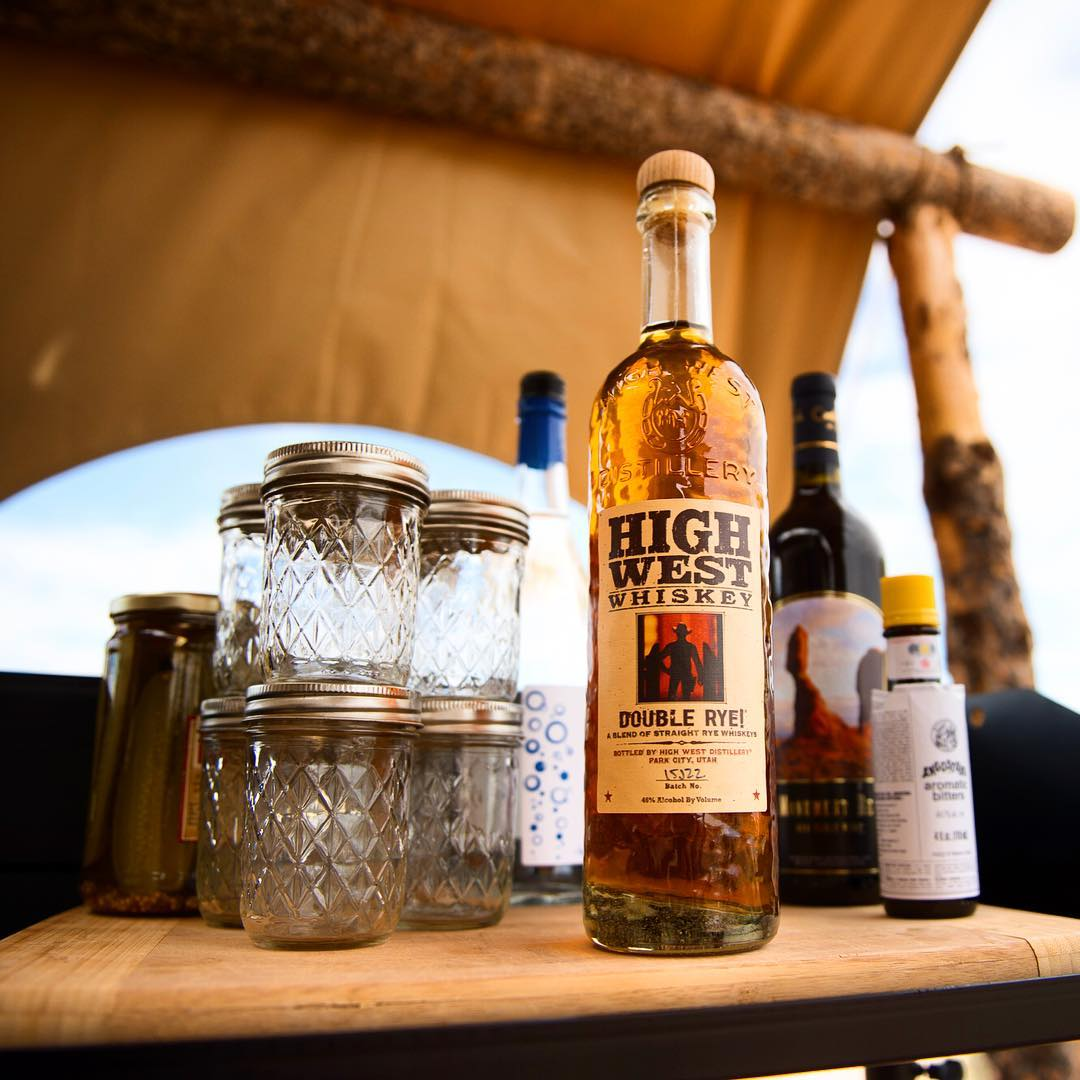 "Our Double Rye is a great camping accessory, @Backcountrycom said so themselves!  Take a look at their ""Escape to Moab"" article and you'll spot us in ""Chapter 4 - Dinner with a view."" Cheers!"