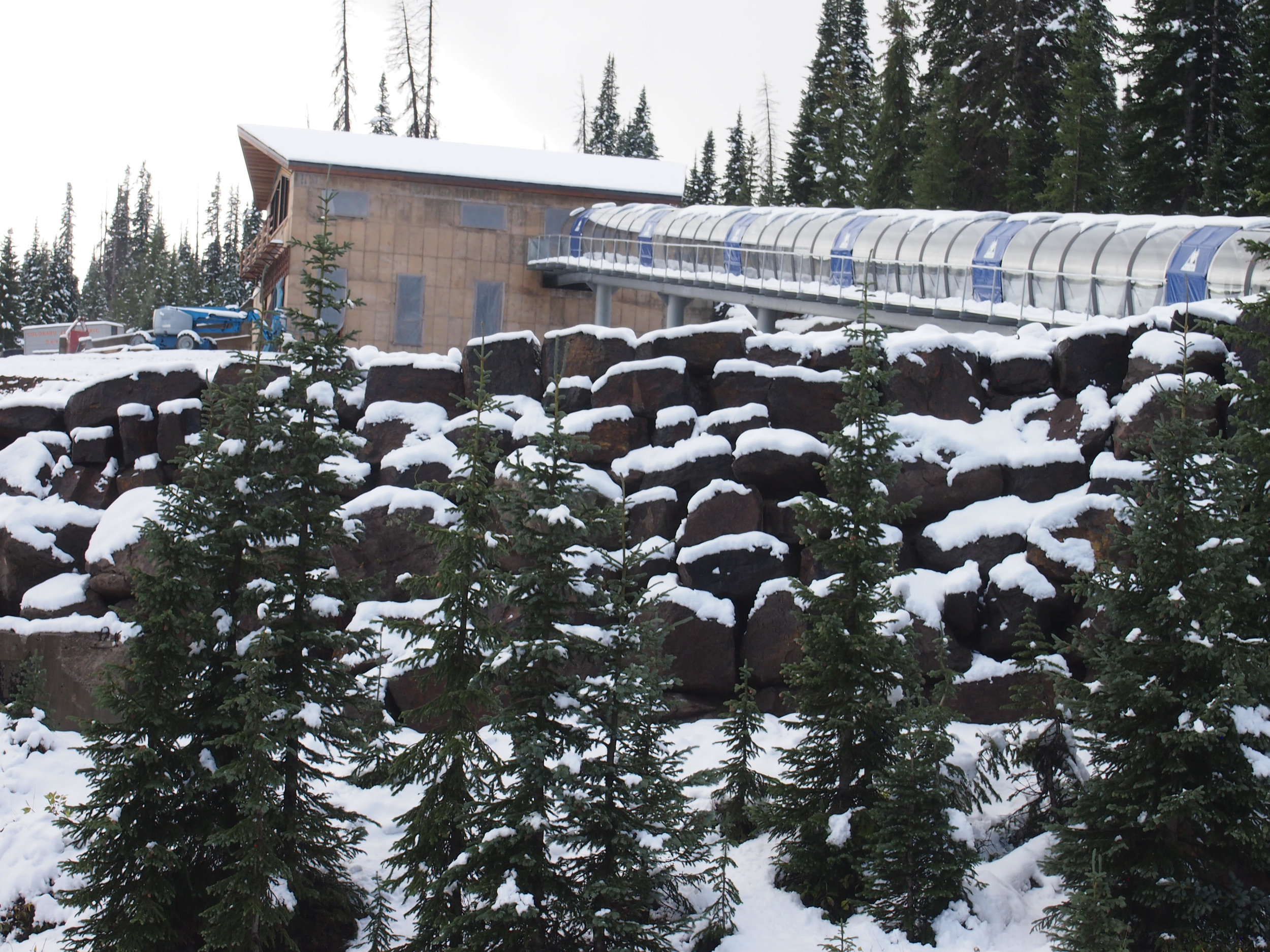 Wolf Creek's all-new Lynx Lift Photo by Rosanne Pitcher Courtesy of Wolf Creek Ski Area