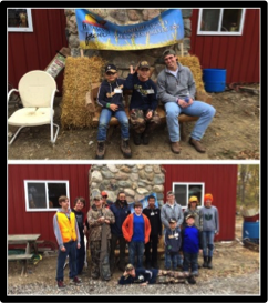 Pheasants Forever     October 2015  :   To finish off the bye week, Nicky Baratti and Matthias Farley spent some time with the kids at a Pheasants Forever event. Pheasants Forever is dedicated to the conservation of pheasants, quail and other wildlife through habitat improvements, public awareness, education and land management policies and programs. Notre Dame Football players come from many different backgrounds, with many different interests… it adds to the experience and education that you can only get at the University of Notre Dame!