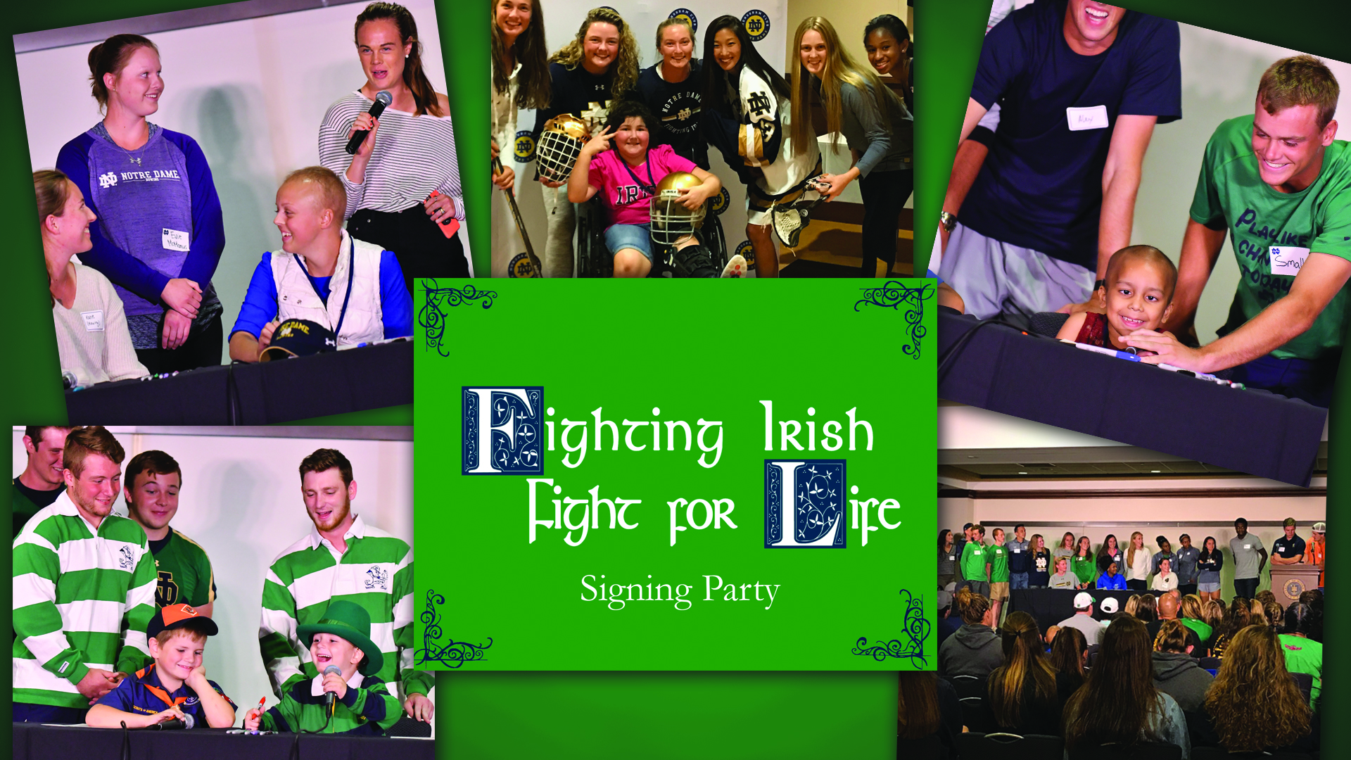 Fighting Irish Fight For Life Signing Day Party