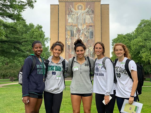 Happy first day of college to all of our freshman Summer Bridge Student-athletes! ☘️