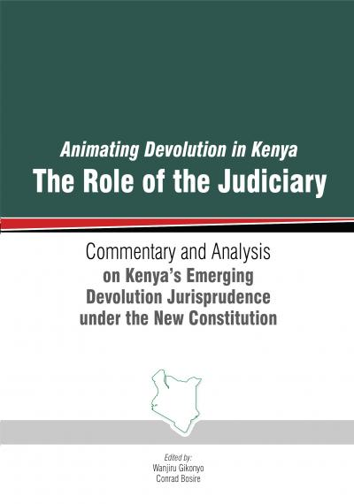 Publication: Supporting devolution in Kenya