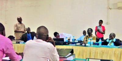 "Report: Evaluation of the Project ""Enhancing the Capacity of the Judiciary in South Sudan"""