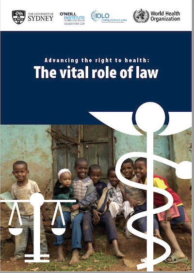 New report offers global resource on using the law to improve health