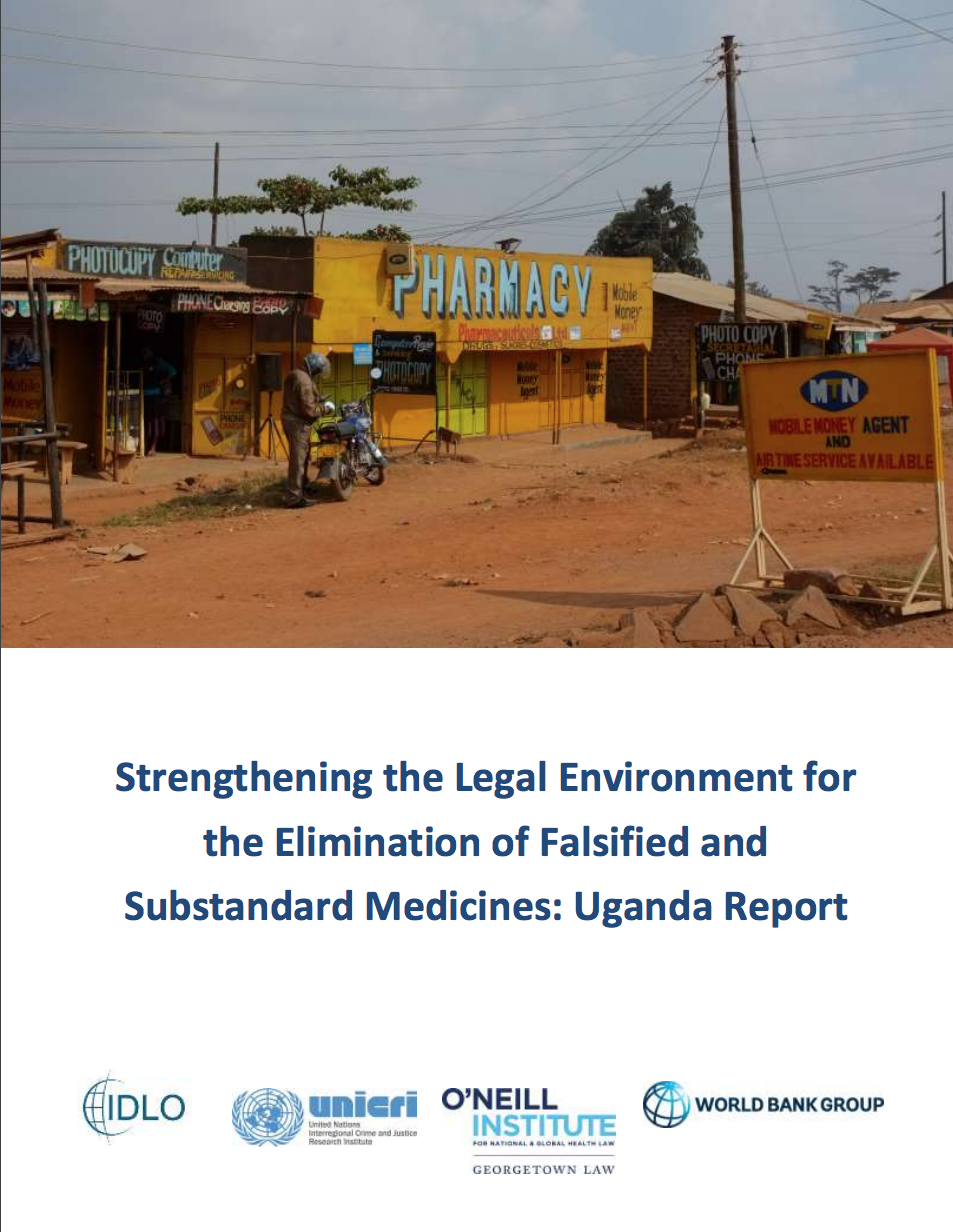 Report: Strengthening the Elimination of Falsified and Substandard Medicines