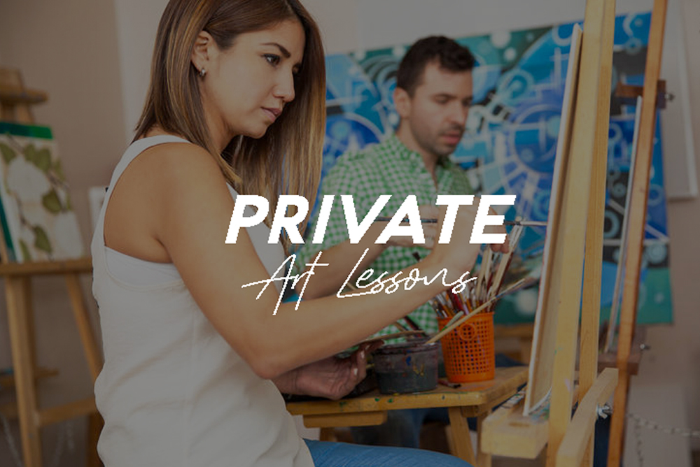 Participate in personalised art sessions under the full attention and guidance of our experienced instructors!