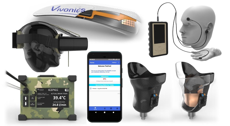 An array of different Vivonics technologies
