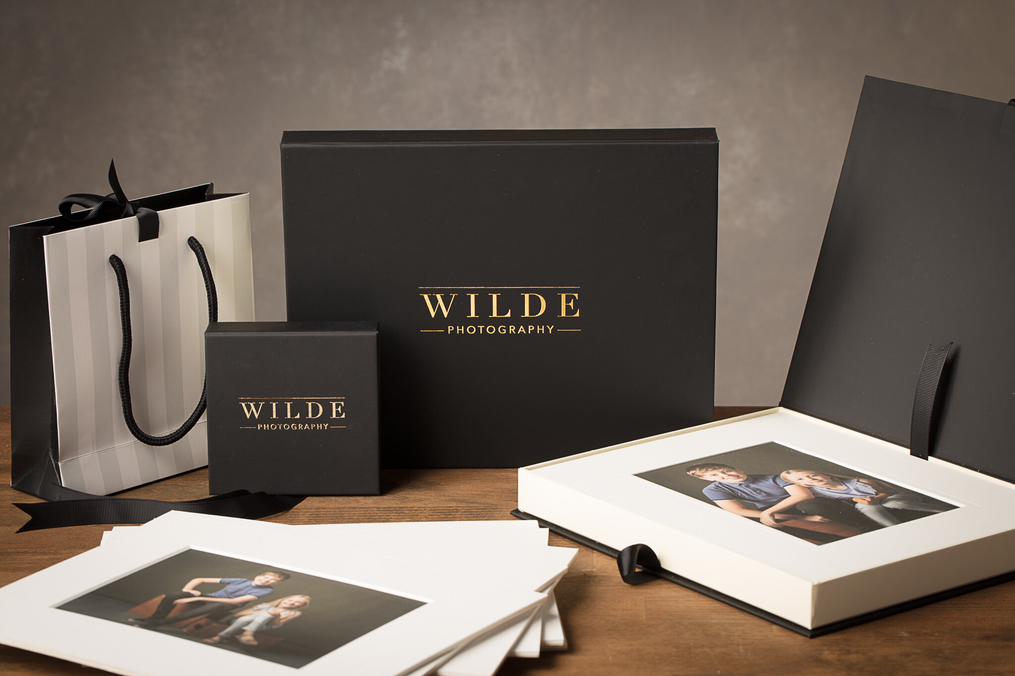 Our Signature Collection Folio Box holds 10 Matted 7x5 Prints