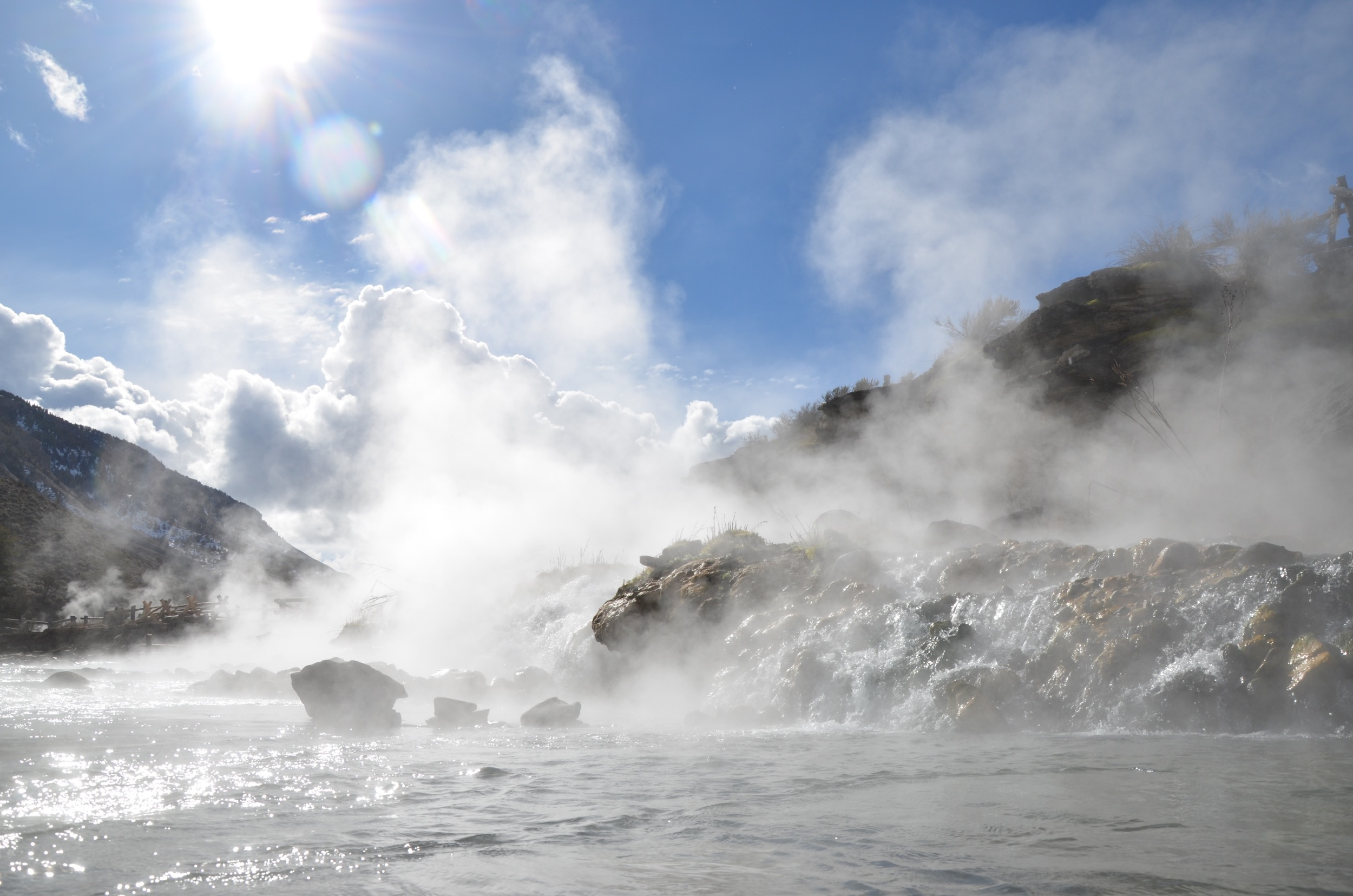 Take a dip in the Boiling River