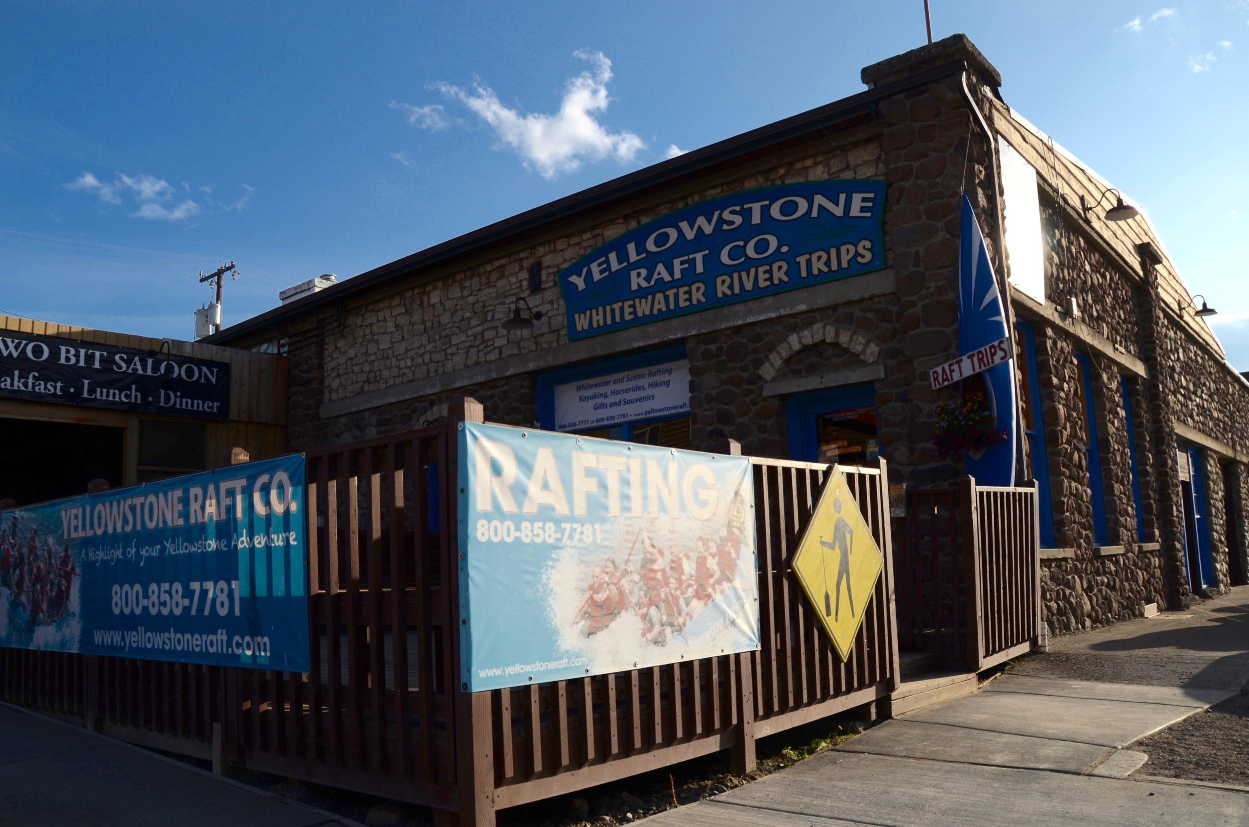 Yellowstone Raft Company