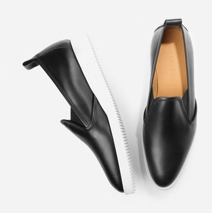 Everlane:  The Leather Street Shoe