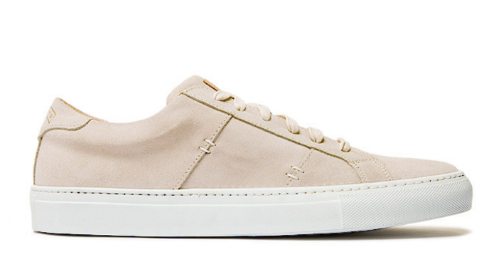 The Greats: The Royale sneaker in Farro Suede (Remember to select your shoe size in  mens !)