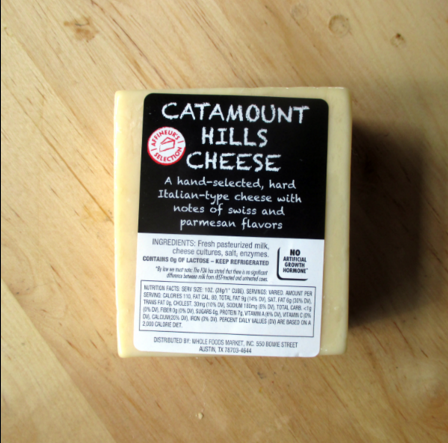 Catamount Hills Cheese