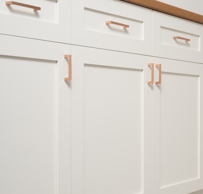 School House Electric: greenwood pull- satin copper