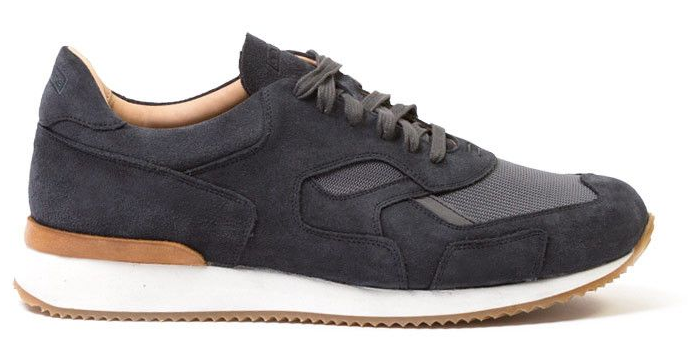 Greats: The Pronto Sneaker in charcoal