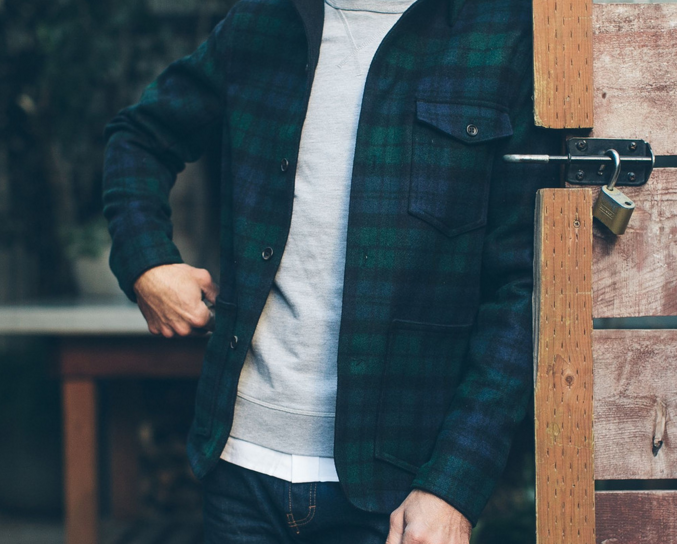 Taylor Stitch: The project Jacket in Blackwatch Pendleton Wool