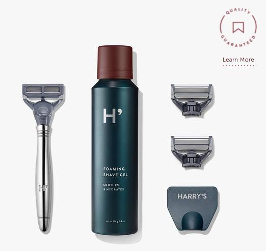 Harry's: basic shaving kit