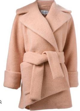 Carven robe-style coat