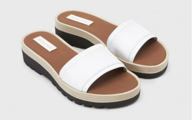 SEE By Chloe microsole slide sandal