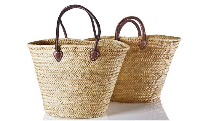 Kaufmann Mercantile: Handwoven palm caryall