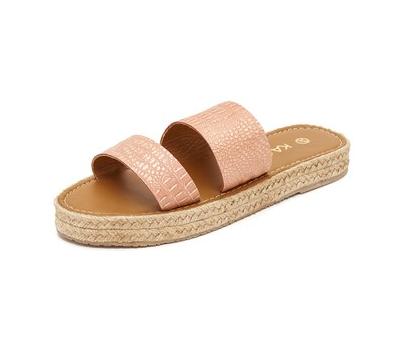 Kanaas: Tabago flatform sandal
