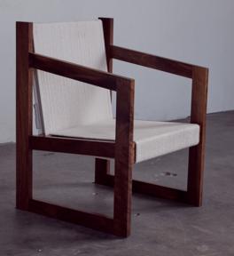Chair No. 2 in walnut