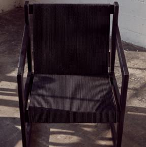 Chair No. 2 Shou-Sugi-Ban