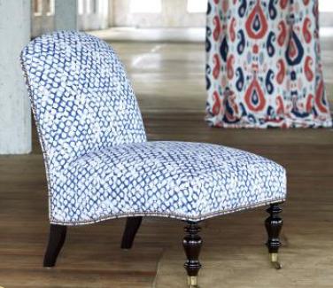 John Robshaw Duralee Chair
