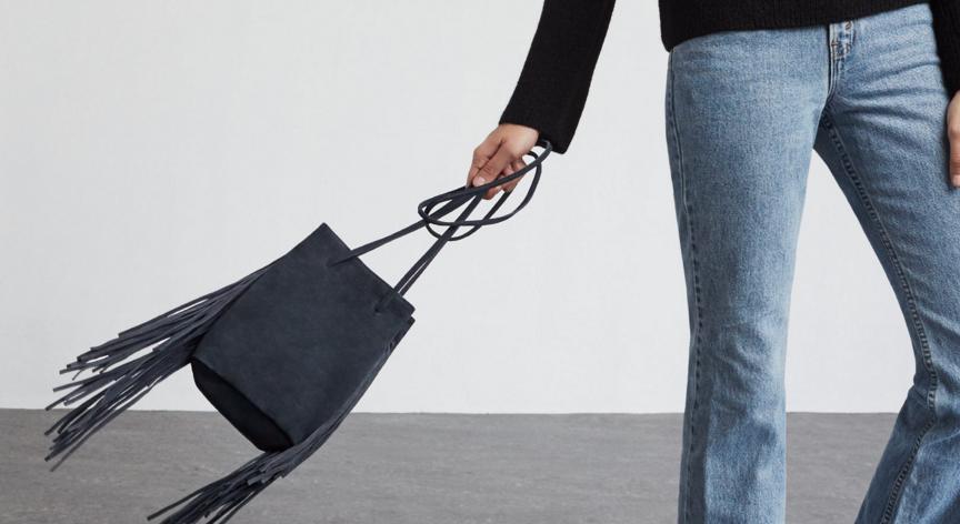 Reformation: Petite finge bag